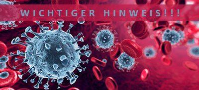 Coronavirus-Hinweis